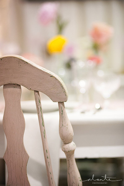 Vintage chairs for a wedding from Vintage Ambiance