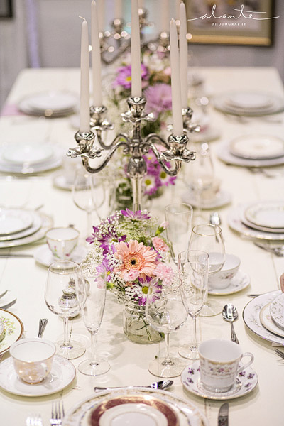 Vintage farm table rentals in Seattle