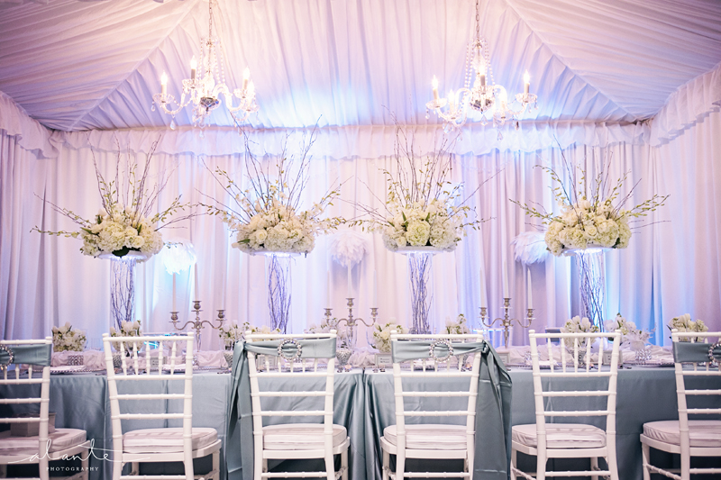 you might also like white and blue wedding dcor from grand event rentals - Wedding Decor Rentals