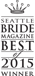 Seattle Bride Magazine Best Photographer Winner